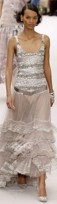 Chanel Spring Summer 2004 Couture - I wish this look was acceptable street wear.