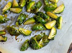 Roasted Maple Brussels Sprouts