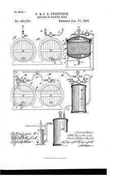 Patent US490056 - Process of making beer - Google Patents