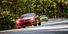 2016 Chevrolet Camaro SS vs 2016 Ford Mustang GT: Old War, New Warriors  - RoadandTrack.com
