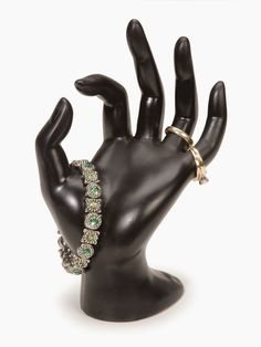 Frugal Mom and Wife: Darice Polyresin Hand Form Bracelet Black Display ONLY $4.49 Shipped!