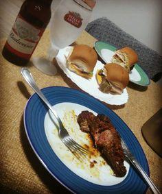 Ripa da Chuleta 🐂 e MINI Hambúrguer 🍔
