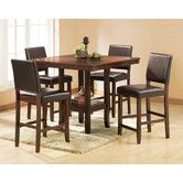 Found it at Wayfair - Alford 5 Piece Counter Height Dining Set