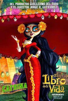 The Book of Life Movie | La Muerte <3 Fan de Jorge Gutiérrez :) los detalles, los colores, los simbolismos, me encanto!