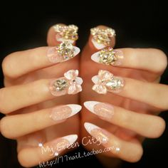 Aliexpress.com : Buy Tender pink pointed toe nail art finished products 24 white from Reliable nature fingernail suppliers on Jessie's shop. $17.20