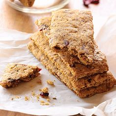 Loaded with good-for-you ingredients, these not-too-sweet bars still taste like a treat, and they'll withstand cold, heat, and being...