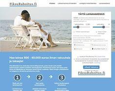 FiksuRahoitus.fi - Lainaa heti 500 - 40.000 euroa