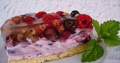 Gyümölcstorta mascarpone krémmel Home Baking, Delish, Cheesecake, Sweets, Fruit, Food, Mascarpone, Gummi Candy, Cheesecakes