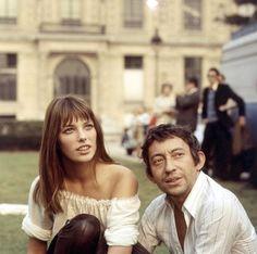 Les couples francais les plus iconiques Serge Gainsbourg et Jane Birkin