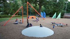 Isamu Noguchi's recently restored Atlanta Playscapes serves as a model for playgrounds of the future, Atlanta - Herman Miller