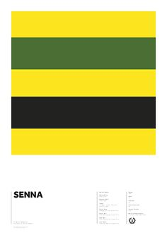 World Champions series - Senna by Adrian Newell