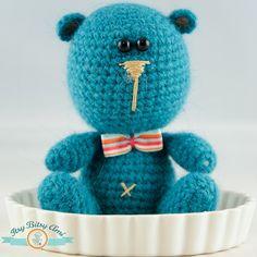 Miki, the Bear Amigurumi  Crochet