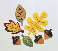 want to use to make a fall felt tree for kids to decorate during fall season