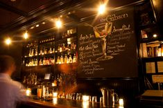 Gibson, The - Drink DC - The Best Happy Hours, Drinks & Bars in Washington DC