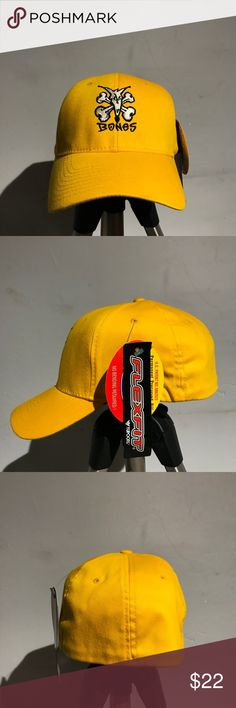 New Authentic Rat Bones Fitted Flex Fit Hat New Rat Bones Flex Fit Fitted  Hat Rat 658973a89c67