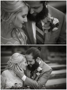 garrett & amy (in Elizabeth Dye) | seven springs wedding photography | meadowoods ceremony & alpine room reception » custom portraits by charlene