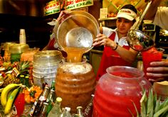 Where to find freshly made aguas frescas