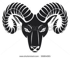head of the ram (ram head) Shutterstock Image - head of the ram (ram ...