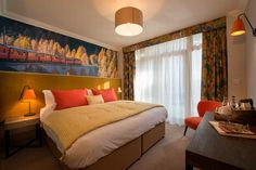 The Station House, Haslemere Pub Design, Curtains, Bed, House, Furniture, Home Decor, Homemade Home Decor, Stream Bed, Haus