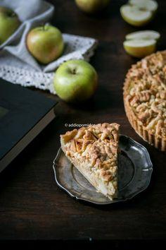Prosta tarta z jabłkami. | AddioPomidory Dairy, Pie, Cheese, Fruit, Desserts, Recipes, Food, Torte, Tailgate Desserts
