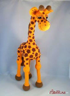 Návod: Háčkovaná žirafa / Zboží prodejce Halline | Fler.cz