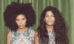 Ibeyi are a French-Cuban duo who sing in a mixture of Yoruba and English. Rhik Samadder meets the musical twins Lisa and Naomi Díaz as they take their pick from the new season's fashions.