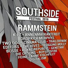 First bands for Germany's Southside Festival