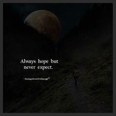 True expectations do hurt