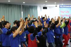 석세스라이프플래닝 연수중 에너지 댄스시간-북한강연수원에서 2012.10