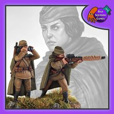Sensibly dressed female wargames miniatures and so much more! Bolt Action Game, Bolt Action Miniatures, Soviet Army, Red Army, Ww2, World War, Female, Games, Mockup