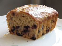 Blueberry Oatmeal Quick Bread @ friendsfoodfamily.com