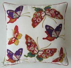 de algodón de lino y bordados de mariposa hermosa bordado cojín-Cojines-Identificación del producto:498231904-spanish.alibaba.com by katharine