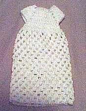 Preemie Baby Burial Gown free crochet pattern