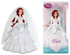 ariel wedding doll