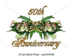 50th anniversary clip art for cards clipart free clip art images rh pinterest com 50th wedding anniversary invitation clipart 50th wedding anniversary clipart for wife