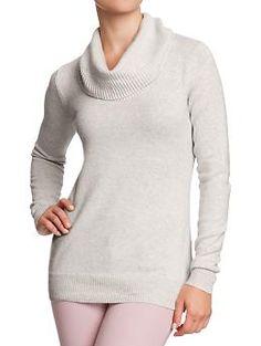 Women's Softest Cowl-Neck Sweaters | Old Navy-in medium light heather grey please!