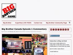 Big Brother Canada 1st episode
