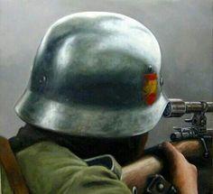 Francotirador de la Division Azul