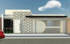 New exterior de casas mexicanas Ideas Grill Door Design, House Gate Design, Door Gate Design, Modern Fence Design, Modern House Design, House Siding, Facade House, Brick House Colors, House Paint Color Combination