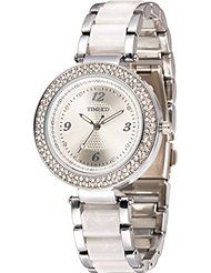 Time100 Fashion Diamond Mosaic Round Dial Rose Gold Quartz Watch Women #W50148L.01A by Time100 $19.99$23.80Prime