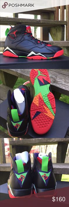 Marvin the Martian retro 7 Retro 7 Marvin the Martian. I have other sizes, just comment below! :) Jordan Shoes Sneakers