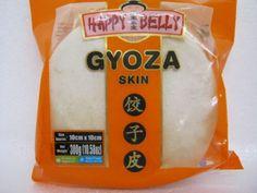 Gyoza Skin, Gyosa Blätter, rund, 10cm, 300g, Happy Belly