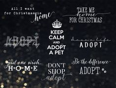 Support Pet Adoption Overlays for symbolic price - $2 Great to support shelter animals adoption for Christmas.