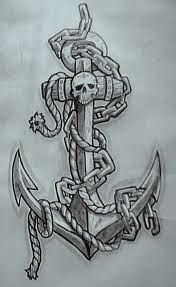 I'm not really into anchors...but I Love this tattoo....pretty sweet! Anchor tattoo