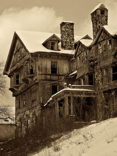 Abandoned Hotel #haunted #creepy #beautiful