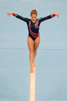 Shawn Johnson women's gymnastics gymnast on balance beam m.18.88.1 moved from @Kythoni Shawn Johnson board http://www.pinterest.com/kythoni/shawn-johnson/ #KyFun