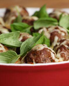 Spaghetti Meatball Bake