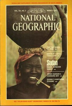 National Geographic March 1982