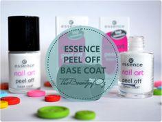peel off base coat von essence (leider nicht mehr im Sortiment!)