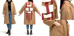 Fashion Design Portfolio, Duster Coat, Jackets, Down Jackets, Jacket